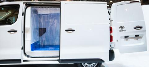 PROACE Refrigeration Conversion